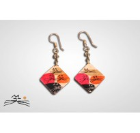 CHAT D'OR - BOUCLES D'OREILLES S